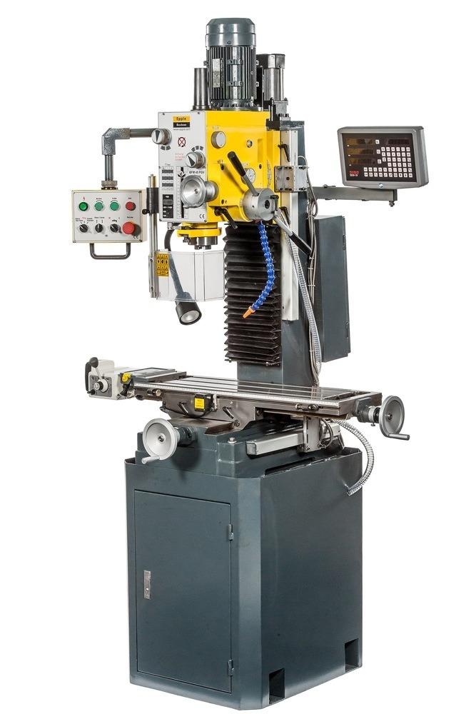 Epple Maschinen BFM 45 PGDV DIGI φρεζοδράπανο 400V /1,1kW/ 1,5