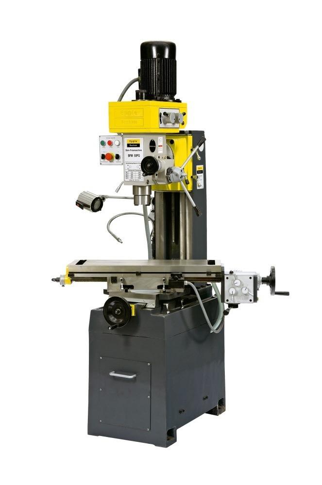 Epple Maschinen BFM 50 PG φρεζοδράπανο 400V /0,85kW/ 1,5kW