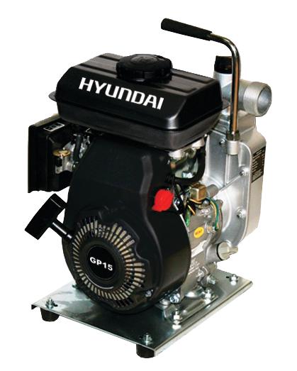 HYUNDAI GP15 - 64102 Αντλητικό βενζίνοκίνητο 2.5hp - ΝΕΟ ΜΟΝΤΕΛΟ