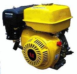 INTERPOWER 168FA Q 5,5Hp Βενζινοκινητήρας OHV Σφήνα