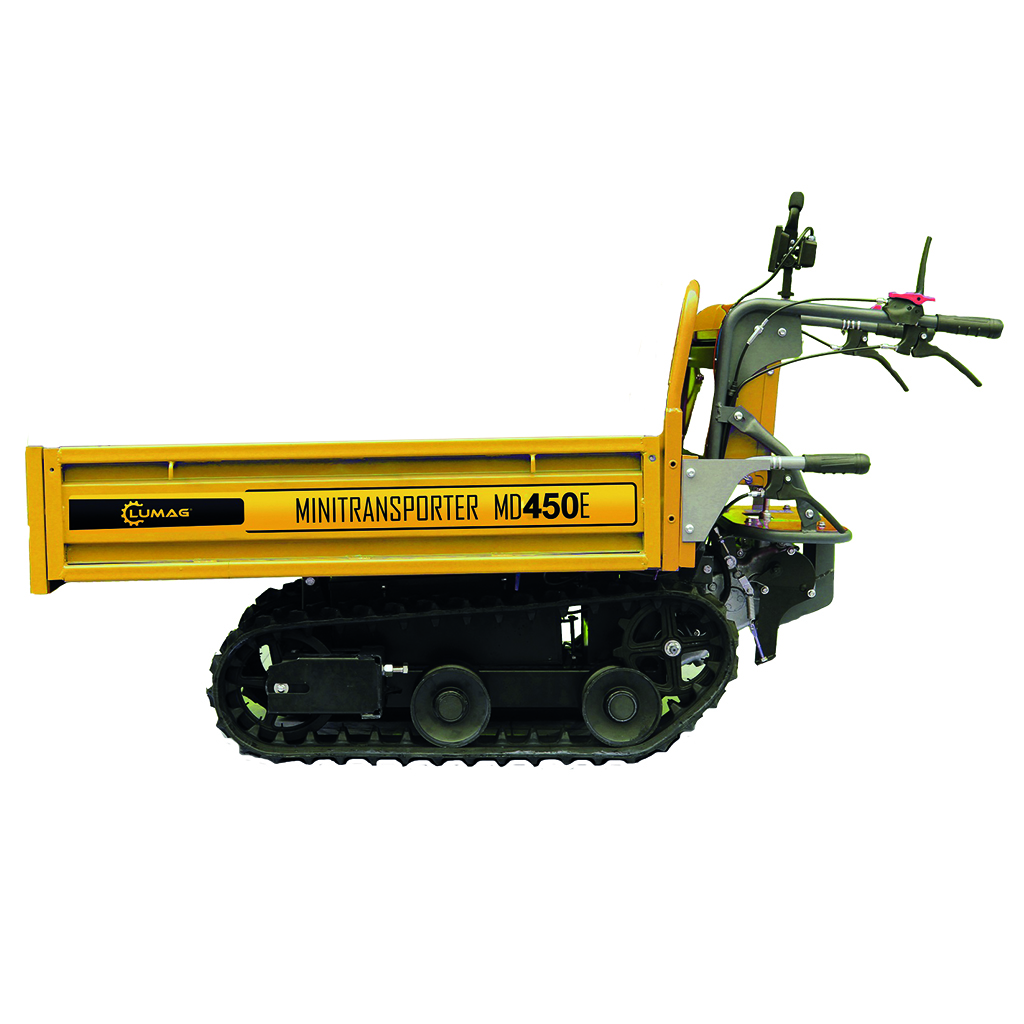 LUMAG MD 450E Ερπυστριοφόρος μεταφορέας μπαταρίας 800W