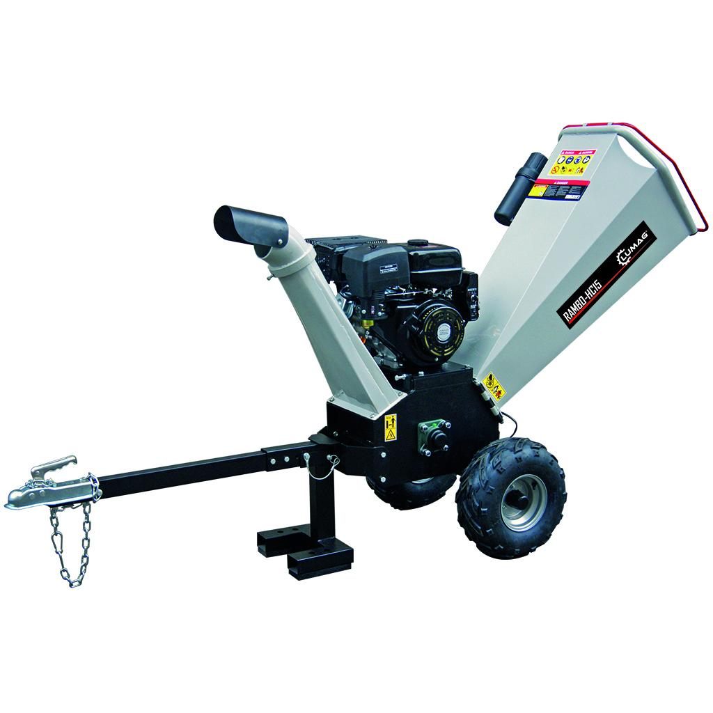 LUMAG RAMBO HC15 Επαγγελματικός θρυμματιστής κλαδιών έως 120mm