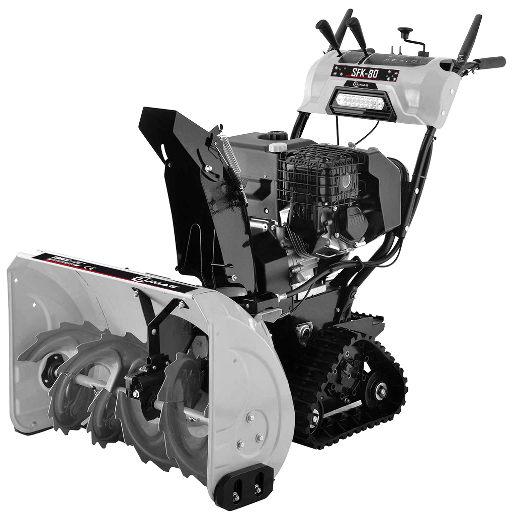 LUMAG SFK 80 Εκχιονιστικό βενζινοκίνητο ερπυστριοφόρο 9.0 kW