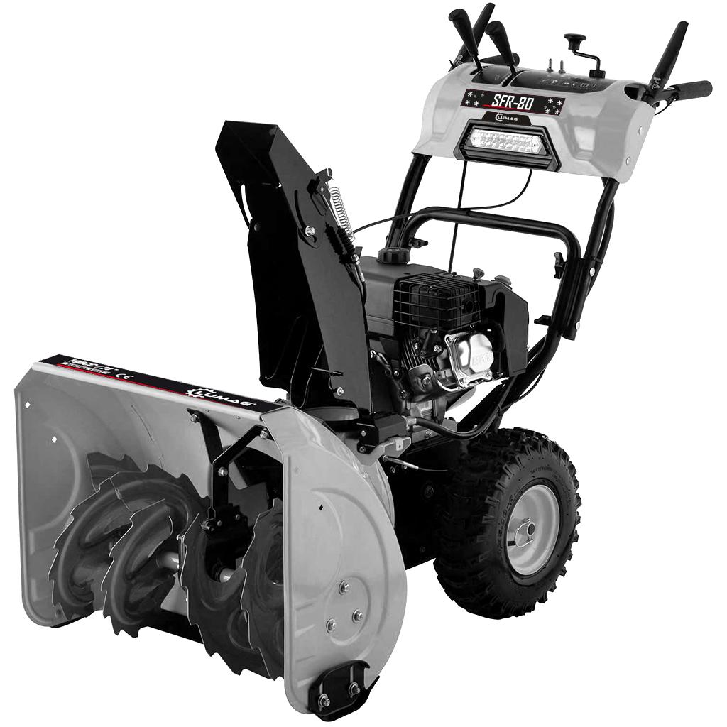 LUMAG SFR 80 Εκχιονιστικό βενζινοκίνητο 9,0 kW