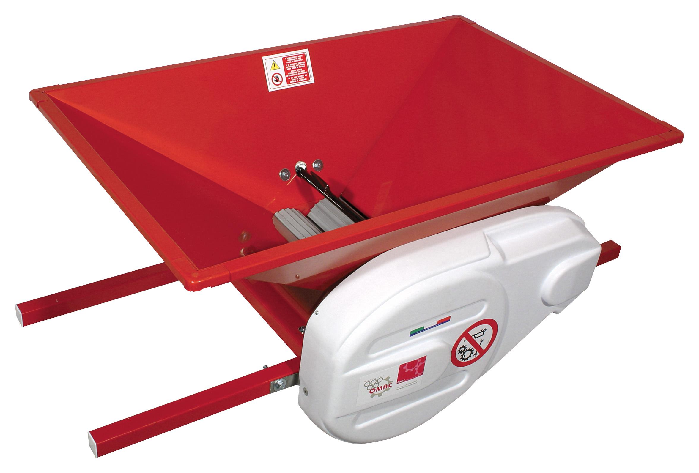 OMAC PGE - 142120 σπαστήρας σταφυλιών ηλεκτρικός 1,0 Hp