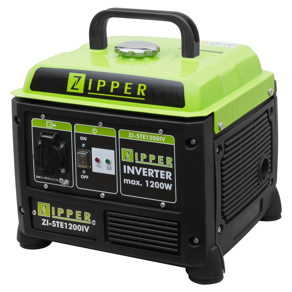 ZIPPER MASCHINEN ZI-STE1200IV γεννήτρια INVERTER 1200W