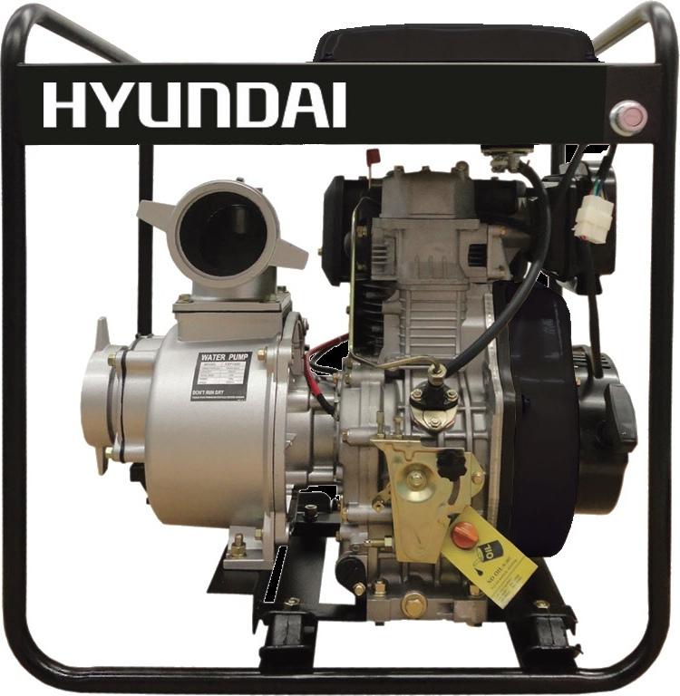 HYUNDAI DP30 - 64202 Αντλητικό πετρελαιοκίνητο 7hp - ΝΕΟ ΜΟΝΤΕΛΟ